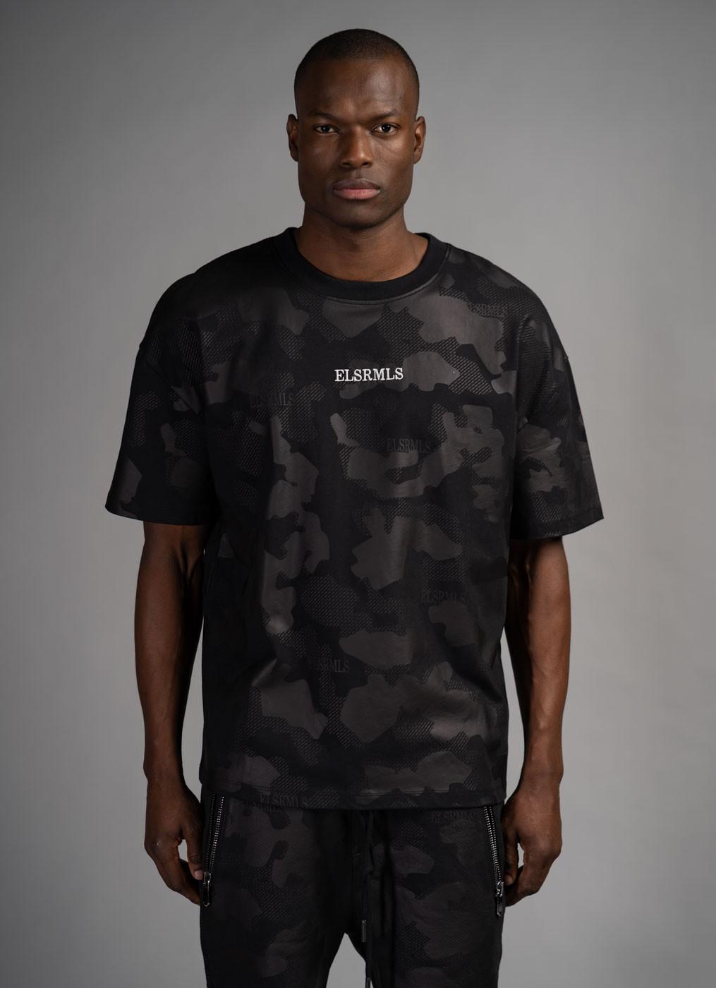 ER Raphy camou - t-shirt